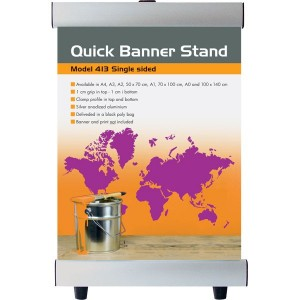 Quick Banner Stand med print